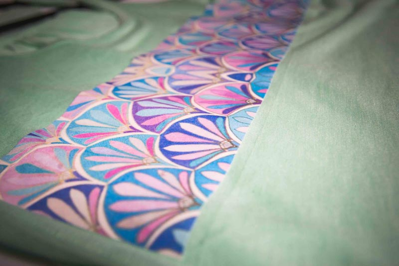 sublimation pattern example
